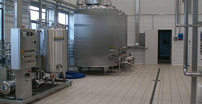 Cream pasteurization and storage