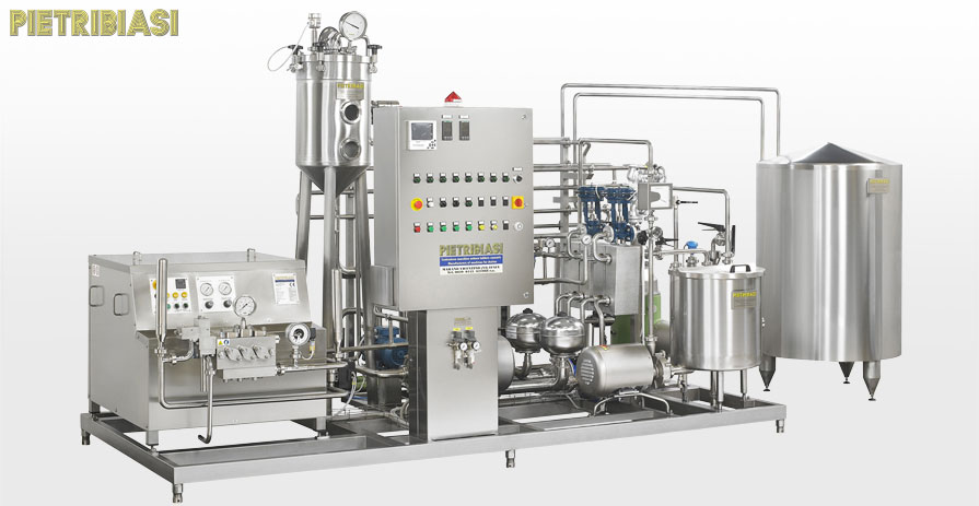 Pasteurization and degassing