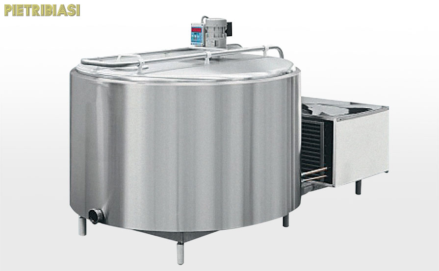 Reception and storage – Cooling tank