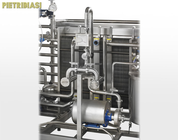 Pasteurizer – Special HTST double filter